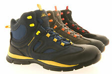 New Mens Safety Work Boot Baseball Trainer Lightweight Groundwork Fab602