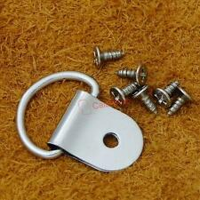 "35mm 1 3/8"" Triangle D-Ring Picture Frame Hanger Screws Small Strap CT182F3"