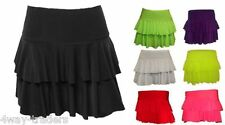 WOMENS LADIES RARA TUTU MINI SHORT NEON COLOUR SKIRT SIZE 8 10 12 14