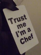 Novelty Luggage Crew Tags - Trust me, I'm A Chef