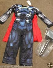 BNWT Marvel Avengers Assemble Thor fancy dress outfit dressing up costume hammer