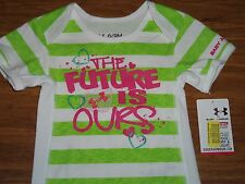 NWT Under Armour One Piece Outfit Baby Girls 3 6 Months