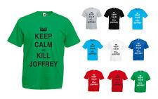 Keep Calm And Kill Joffrey, Game of Thrones inspired Men's Printed T-Shirt