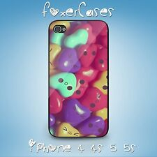 Retro Vintage Fun Cute Kawai Candy Heart Faces Case for iPhone & Samsung Galaxy