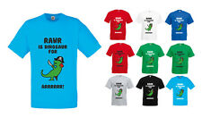 RAWR Is Dinosaur For ARRRR, Men's Printed T-Shirt