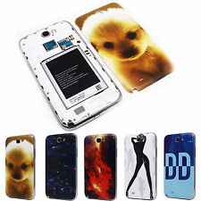 Dog Cutesy DD Image Battery Back Door Cover Case for Samsung N7100 Galaxy Note 2