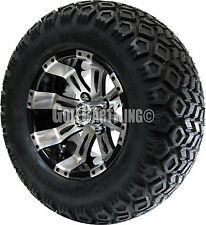 """12"""" RX180 Vegas Wheel with Tire Combo and Club Car Golf Cart Lift Kit"""