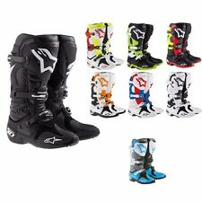 *Fast Shipping* Alpinestars Tech 10 Boot (Black, White, Orange, Red, Blue)