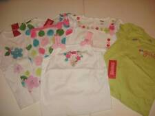 NWT Gymboree Flower Garden Assorted Girl's SS Tops Sz 6 Floral or Daddy's Girl