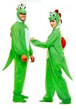 YOSHIMOTO Green Dinosaur Adult Unisex Costume Cool Video Game Halloween Outfit