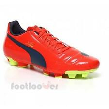 Mens Puma evoPOWER 4 FG 102953 01 Evo Power Orange Football Shoes