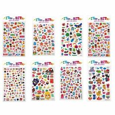 Itsy Bitsy Teeny Tiny Sticker Sets Dogs Cats Bugs Food Desserts Party Favors