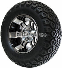 """12"""" RHOX RX121 Wheel with Tire Combo and Club Car Golf Cart Lift Kit"""