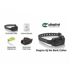 Dogtra IQ No Bark Waterproof Dog Training Collar Learning Vibration Large Small