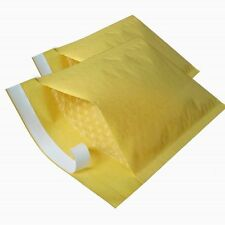 PADDED ENVELOPES / BAGS - GOLD - MAIL LITE JIFFY STYLE - ALL SIZES & AMOUNTS