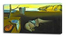 SALVADOR DALI The Persistence of Memory CANVAS PRINT Wall Decor Art Painting On