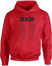 JH01J_PD085_Dixon Angel Wings, The Walking Dead inspired Kid's Printed Hoodie