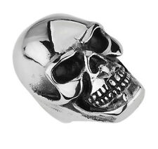 STAINLESS STEEL BIG HEAVY SKULL RING IN DIFFERENT SIZES  R127