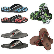 NEW MENS GENTS URBAN BEACH HOLIDAY GYM SHOWER FLIP FLOPS MULES SANDALS SIZE 6-12