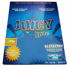 Abu Shisha- Juicy Jays Flavoured Cigatette King Size Rolling Paper Box Weed