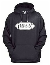 PETERBILT HOODIE SWEAT SHIRT PULLOVER JACKET  TRUCK RIG TRACTOR SEMI