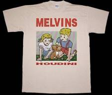 MELVINS HOUDINI SLUDGE METAL STONER ROCK FANTOMAS NEW NATURAL COLOR T-SHIRT