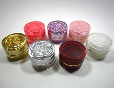 Wholesale Acrylic Jar Refill Cream Cosmetic Makeup Empty 5 g Flower 5-40 Pieces