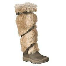 Timberland 3457R Earthkeepers Mount Holly Knee-High Leather Faux Fur Boots Women
