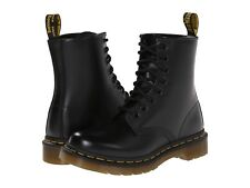 Women's Dr Martens 1460 Womens 8 Eye LaceUp Boot Black Smooth R11821006