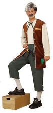 Gepetto the Toymaker Pinocchio Old Man Fancy Dress Up Halloween Adult Costume