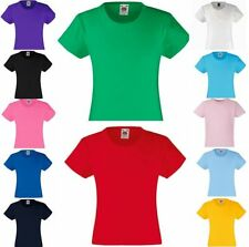 FRUIT OF THE LOOM Mädchen T-Shirt Girls Valueweight-104 116 128 140 152 164(2)