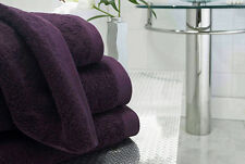 BOUTIQUE DAMSON PURPLE 800GSM EGYPTIAN COTTON LUXURY TOWEL FACE HAND BATH