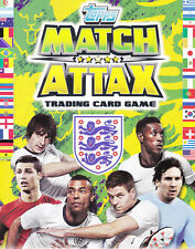 MATCH ATTAX ATTACKS ENGLAND 2014 BRAZIL WORLD CUP BASE CARDS 72 - 137 FREE POST