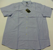 KOOGA RUGBY AFTER MATCH/LEISURE S/S SHIRT-PALE BLUE