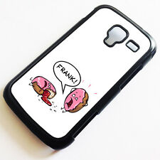 Cover for Samsung Galaxy Ace II 2  Donut Cool Funny Cute Cartoon Case k2137
