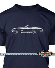 Chevrolet Corvette 1967 Convertible Men T-Shirt - Multiple Colors and Sizes