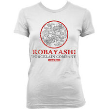 9166w KOBAYASHI PORCELAIN COMPANY Ladies T-SHIRT inspired by THE USUAL SUSPECTS