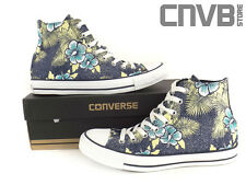 CONVERSE  CT HI  136552C navy / garden  NEW SCHUHE CHUCK TAYLOR SHOES DAMEN