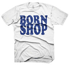 Mens Funny Saying T-Shirts-Born To Shop-Funny Tees For Men