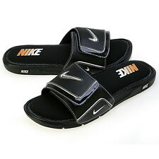 Nike 415205 Men's Comfort Slide 2 - Black/Silver