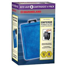 Marineland Emperor 400 & 280 Size E Replacement Filter Cartridges 4,8,12,24 pack