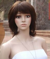 100% Real Natural Human Remy Hair, New Fashion Women Ladies Full Wig Wigs