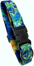 Beach Dog Company - Tropical Print Collars - MADE IN THE USA - Dog Collar