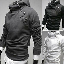 Fashion Men's Top Designed Slim Fit Casual Sexy Hoodies Jackets Coats