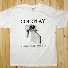 Coldplay A Rush of Blood to the Head Rock Music Band Tee T-Shirts Unisex CP6