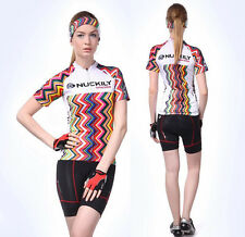 Women's Cycling Jersey & Shorts Cycling Set Bike Clothes Team Cycling Short Kit