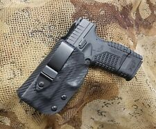 Gunner's Custom Holster XDS 4.0 IWB CCW Concealment Holster Tuckable Adjustable