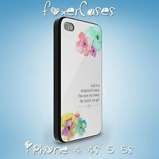 Happy Positive Life Quotes Case Cover for iPhone and Samsung Galaxy
