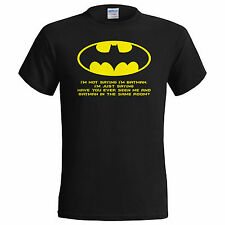 I'm Not Saying My Dads Batman Funny T Shirt Fathers Day Birthday Small - 5XL