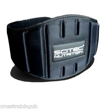 "SCITEC NUTRITION ""FITNESS"" WEIGHTLIFTING BELT POWERLIFTING CROSS TRAINING"